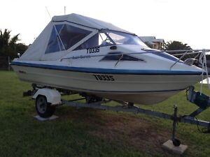 Boat Flightcraft 4.75 Sports Cuddy including trailer