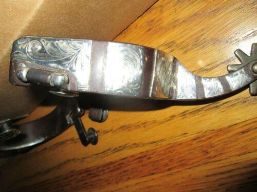 Cowboy Western engraved spurs