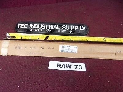 A2 Tool Steel 38 X 58 X 18 Oversized Ground Flat Stock Raw73