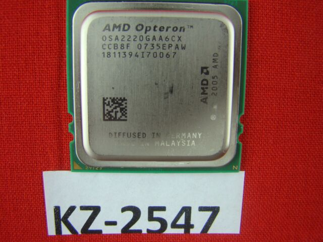 AMD Opteron 2220 OSA2220GAA6CX 2,8 GHz Dual Core #KZ-2547