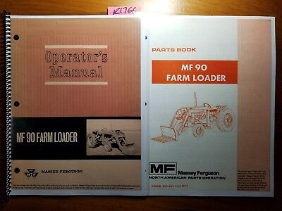 Massey Ferguson Mf 90 Farm Loader For 165 175 Tractor Operators Manual Parts