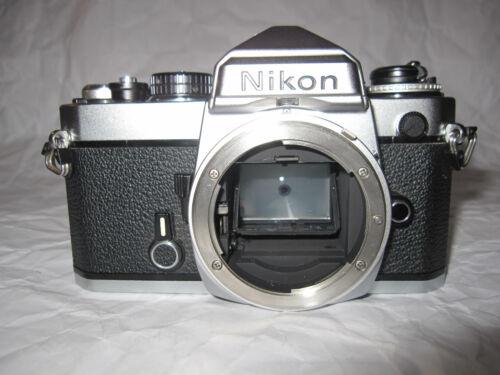 Vintage Nikon FE 35mm SLR Film Camera Body  (Made in Japan)