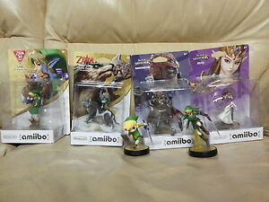Rare amiibo bundle for sale! Use them for Breath of the Wild!