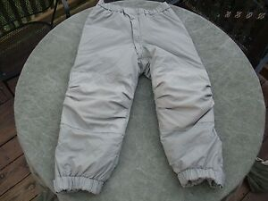 GEN-III-PRIMALOFT-LEVEL-7-Cold-Weather-Pants-Size-Medium-Long