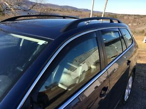 VW Golf window vent shades