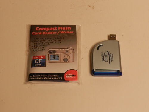 DIGITAL CONCEPTS COMPACT FLASH CARD READER/WRITER  CD #10 NEW