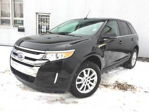 2012 Ford Edge Limited, AWD, BACKUP CAM, LEATHER, PAN SUNROOF.