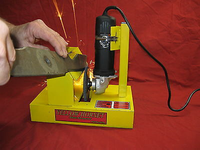 Lawn Mower Blade Sharpener / Grinder Motor NOT Included              Made In USA