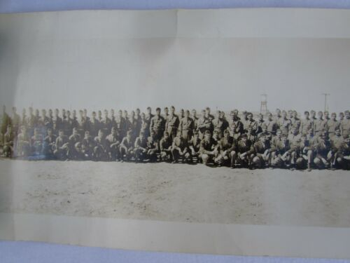 Vintage Military Yard Photo Camp Blanding FLorida 31517 1930s 1940s