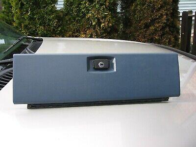 80 86 FORD F150 F250 F350 TRUCK BRONCO INTERIOR GLOVE BOX DOOR LID COVER BLUE