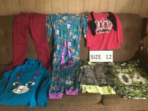 Girl's JUSTICE CLOTHING - Sizes 12 and 14