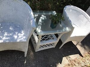 Retro Vintage Cane Outdoor/patio setting North Willoughby Willoughby Area Preview