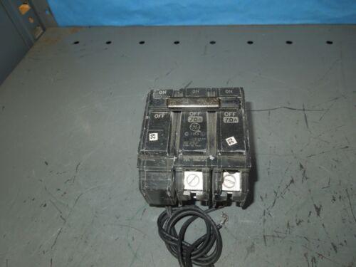 Ge Thqb2170st1 70a 2p 240v Shunt Trip Circuit Breaker (tqsta1) Used