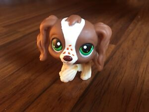 #156 VERY RARE Littlest Pet Shop Red Magnet Cocker Spaniel Dog