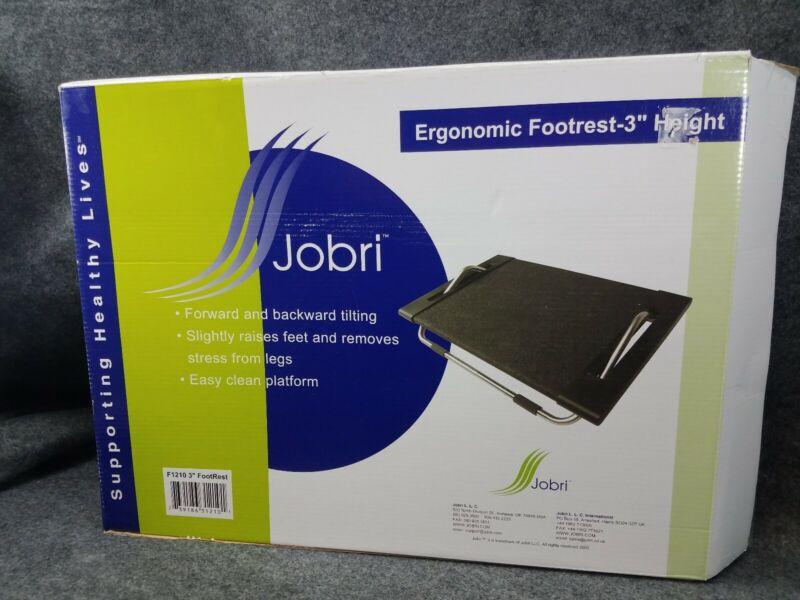 "Jobri Footrest 3"" Ergonomic Office Foot Stand Tilting Angle Adjustable Posture"