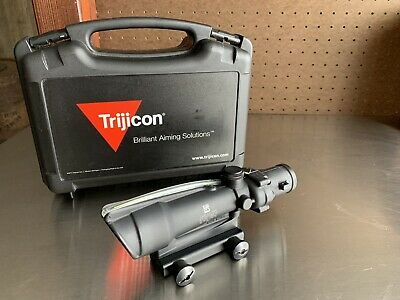 Trijicon 100155 ACOG 3.5x35 Dual III Riflescope w/Mount Green Horseshoe .308