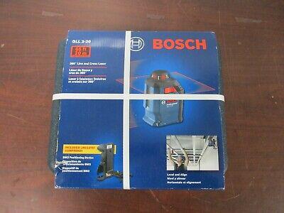Bosch GLL 2-20 65 ft. Self Leveling 360 Degree Horizontal Cross Line Laser [49d]