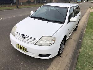 2005 Toyota Corolla Ascent 4 Sp Automatic 4d Wagon