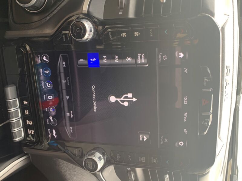 Ram 1500 12 inch infotainment screen and module. Less than 10k miles.