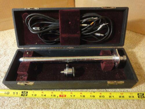Vintage US Army Med Dept, Boehm Proctology instrument, Anal probe specimen tool.