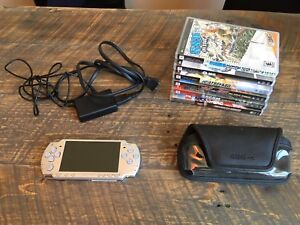 Working Sony PSP Silver Edition