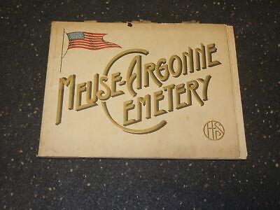 Meuse Argonne Cemetery Brochure WWI
