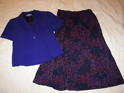 Women's Danny and Nicole Skirt Suit - 8M - New with Tags