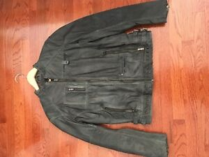 Danier Men's Genuine Leather Jacket - Never Worn!