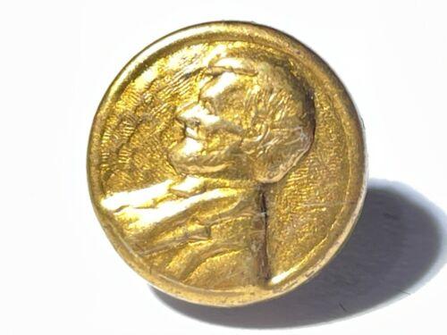 Abraham Lincoln 1864 Civil War presidential campaign button #2