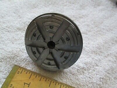 Vintage Watchmakers Lathe 8mm 6-jaw Chuck - Germany - Very Good Condtion