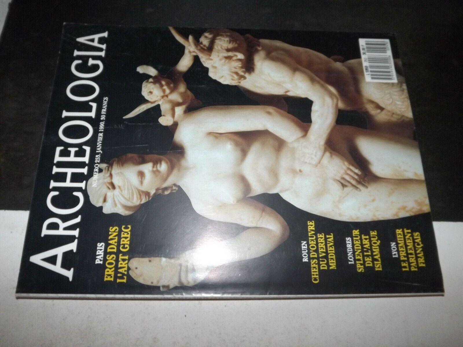 ** revue archéologia n°253 eros / verre du moyen Âge / art islamique