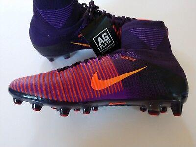 e46397981f77 Nike Mercurial Superfly V AG-PRO Men s 11 Purple Soccer Cleats 831955-585   kw1