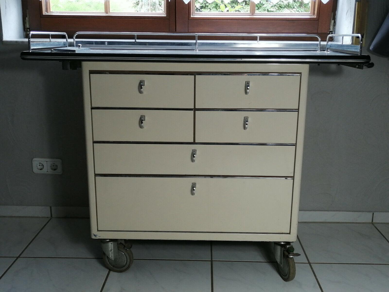 Baisch Arztschrank Metallschrank Loft Industrie Design Vintage Möbel robust rar