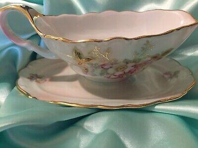 Bavaria Wild Rose Blush (*Beautiful Bavaria Schumann Arzberg WIld Rose Blush Gravy Boat~Numbered)