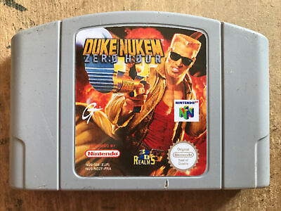 Jeu Nintendo 64 N64 PAL EUR Duke Nukem Zero Hour NUS-NDZF-FRA