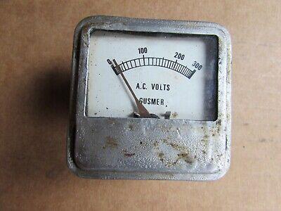Volt Meter Vintage Gusmer A.c Volt Meter 2 14 Square Meter