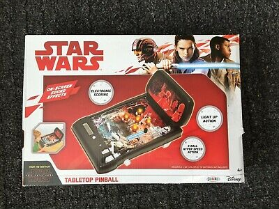 Star Wars Collection The Last Jedi Electronic Tabletop Pinball by Jakks