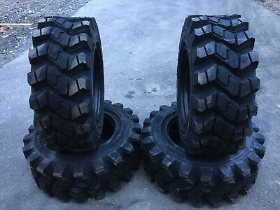 4 Hd Camso Sks753 12-16.5 Skid Steer Tires For John Deere New Holland - 12x16.5
