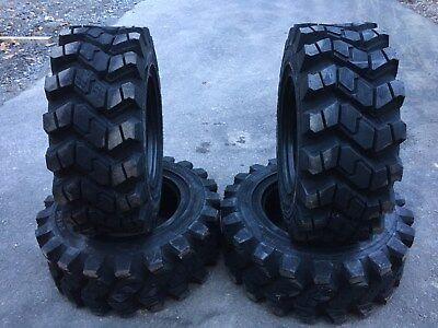 4 Camso Sks753 12-16.5 Skid Steer Tires For Bobcat - 12x16.5 - Heavy Duty