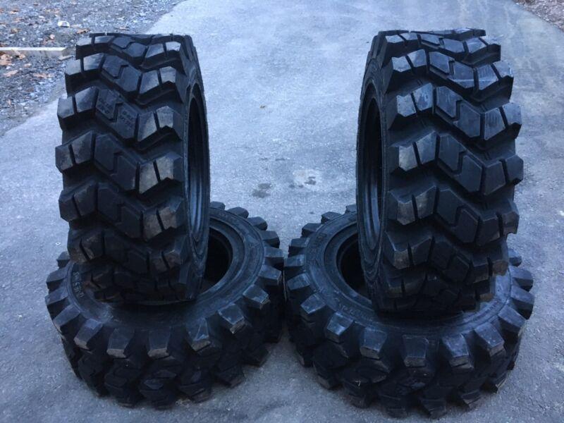 Skid Steer Tire- 12 Ply 12-16.5 NHS 12x16.5-CAT//CASE//JDEERE//BOBCAT//MUSTANG 1