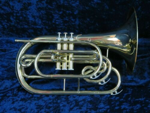 Dynasty Bb Mellophone Ser#B01471 In Beautiful Condition and it Plays Great w/MPC
