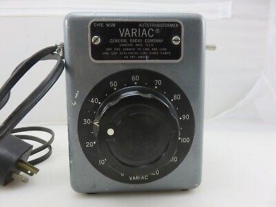 General Radio Company Variac Type W5m Autotransformer 120v Modified Made In Usa