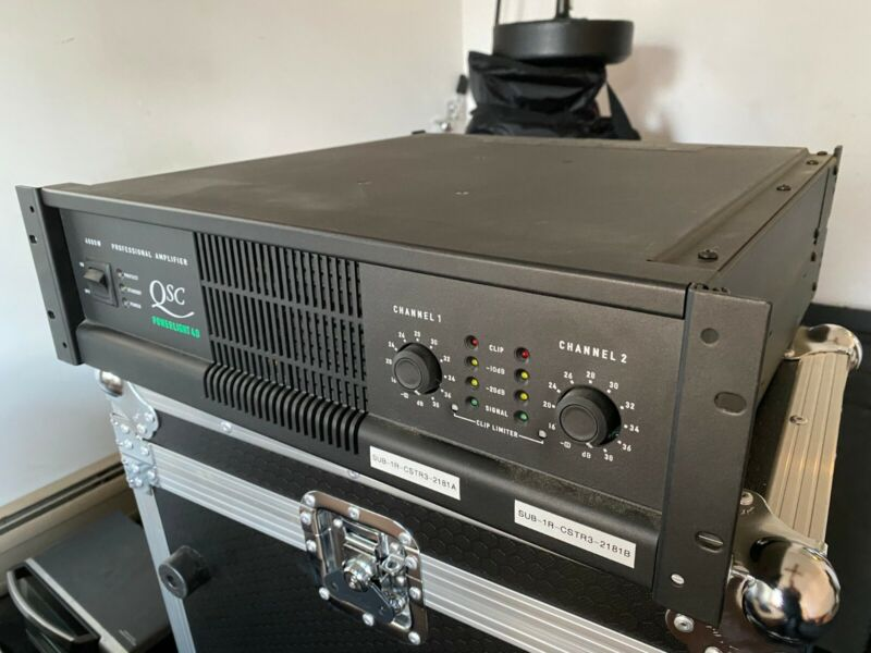 QSC PL 4.0 STEREO POWER AMPLIFIER - USED - VERY GOOD CONDITION