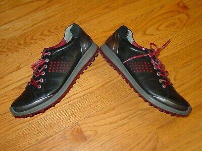 Mens 10-10.5 EU 44 ECCO Yak Biom Hydromax Spikeless Natural Motion Golf Shoes  Mens Spikeless Golf Shoes