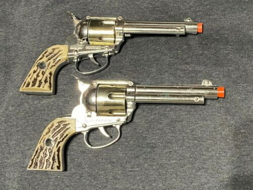 2 *Rare* 1950's  Mattel Fanner Shootin Shell Cap Guns