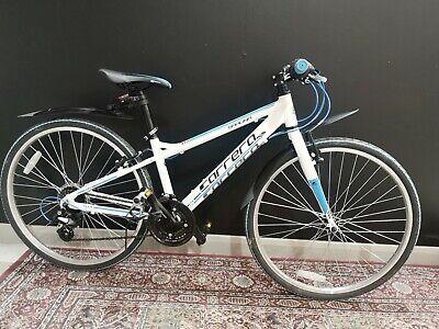 """Carrera Saruna Hybrid Bike Junior Boy Lightweight 13"""" Frame 26"""" Tyres 21 Speeds"""