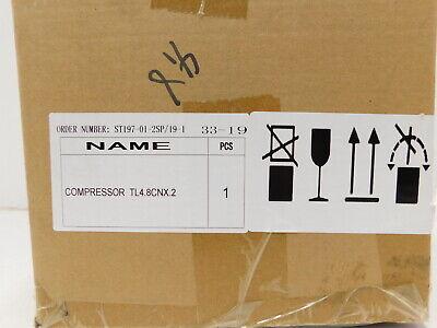 New Secop Tl4.8cnx.2 Commercial Refrigeration Compressor 115-127v R290 I4-1475