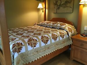 Hand quilted Queen size