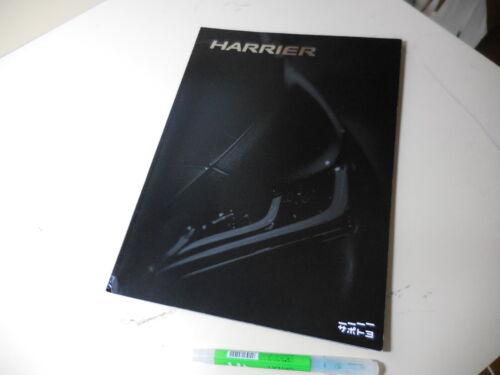 TOYOTA HARRIER Japanese Brochure 2020/06 80/85 A25-FXS M20A-FKS