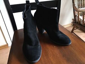 Size 11-Suede Booties